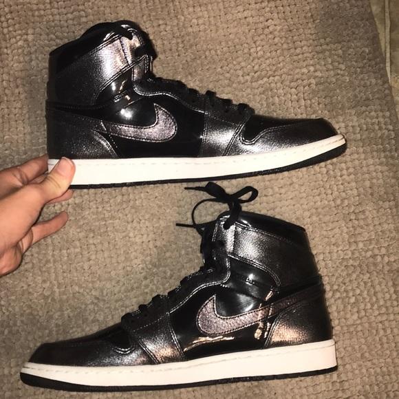 0fe0793a854 Jordan Other - Air Jordan 1  Black Patent  Like New!